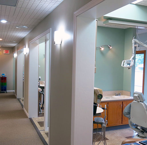 Interior of North Vernon Family Dental