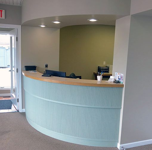 Receptionist Desk of North Vernon Family Dental